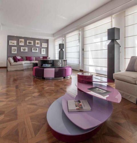 ristrutturazione Roma Parioli design tavolini -10