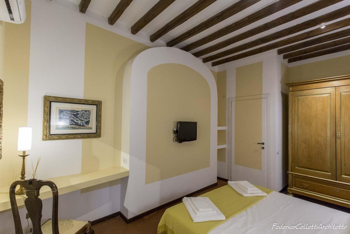 Arco camera da letto Montegiordano 13 Dopo i lavori di Restauro e Interior Design