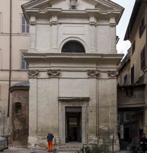 Roma restauro cappella Orsini-2
