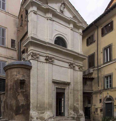Roma restauro cappella Orsini-3