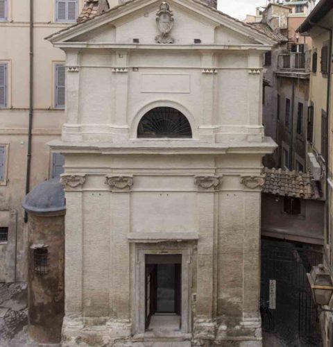 Roma restauro cappella Orsini-7