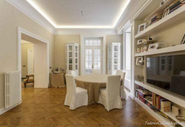 07 salone ristrutturazione appartamento Roma Flaminio-4