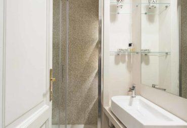 19 bagno ristrutturazione appartamento Roma Flaminio-19