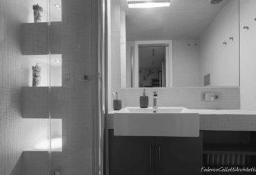 21 bagno ristrutturazione appartamento Roma Flaminio-21