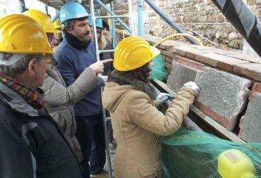 Restauro e consolidamento Mura aureliane-1