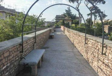 Restauro e consolidamento Mura aureliane-11