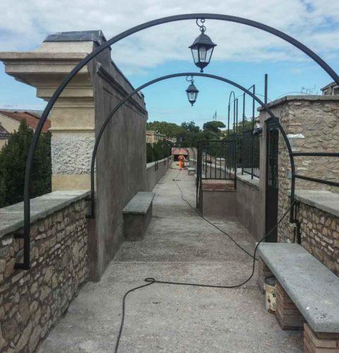 Restauro e consolidamento Mura aureliane-12