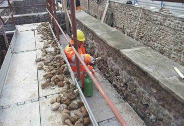 Restauro e consolidamento Mura aureliane-3