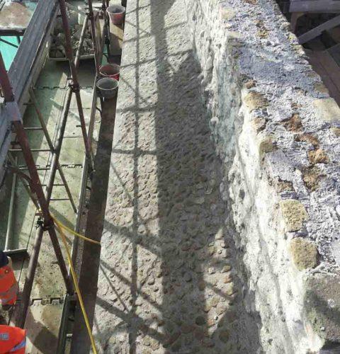 Restauro e consolidamento Mura aureliane-4