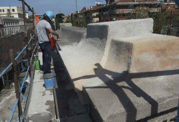 Restauro e consolidamento Mura aureliane-9