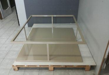 Tavolino layer vetro e ferro-1