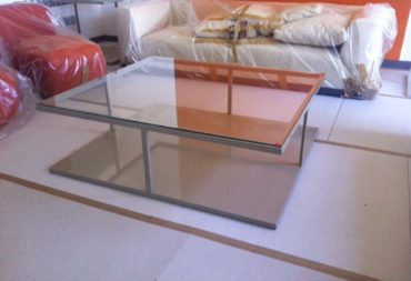 Tavolino layer vetro e ferro-2