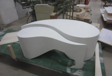 Tavolino moby dick nero laccato-5