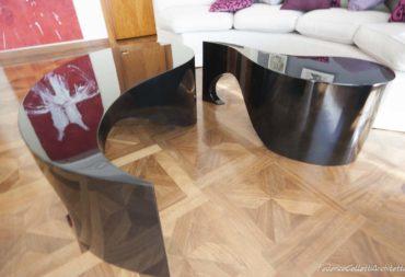 Tavolino moby dick nero laccato-7