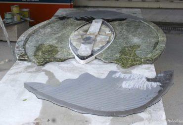 Tavolo ovale marmo snake-2