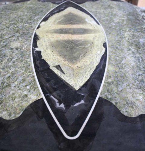 Tavolo ovale marmo snake-3