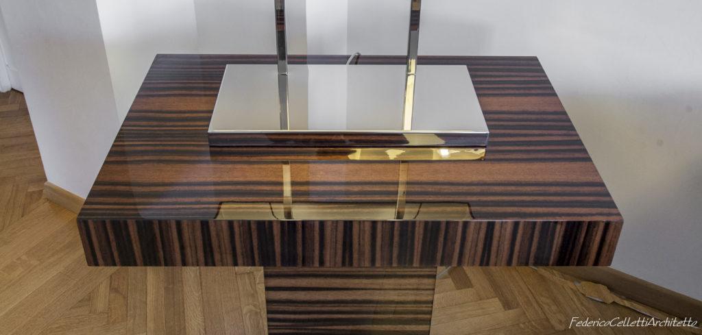 Tavolino Ebano