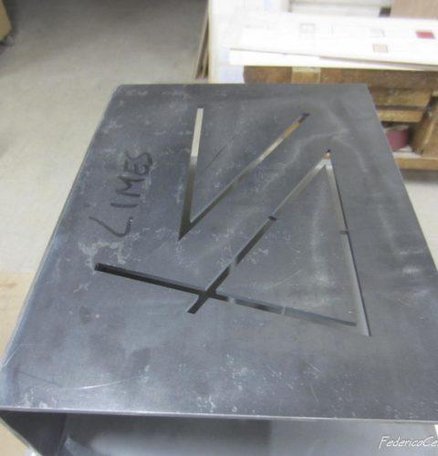 scrivania Hold in vetro e metallo-3