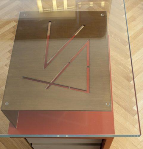 scrivania Hold in vetro e metallo-4