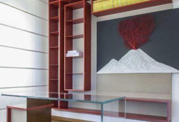 scrivania Hold in vetro e metallo-5