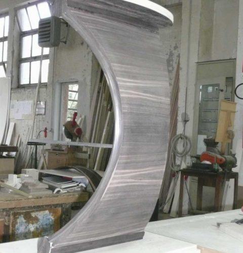 tavolino arco ebano e marmo-1
