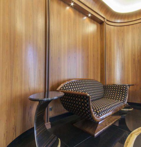 tavolino arco ebano e marmo-3