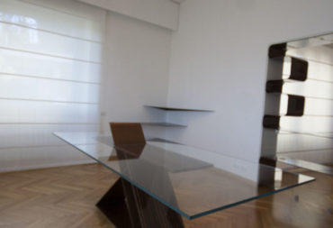 tavolo da pranzo in vetro no tablecloth-4
