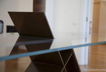 tavolo da pranzo in vetro no tablecloth-8