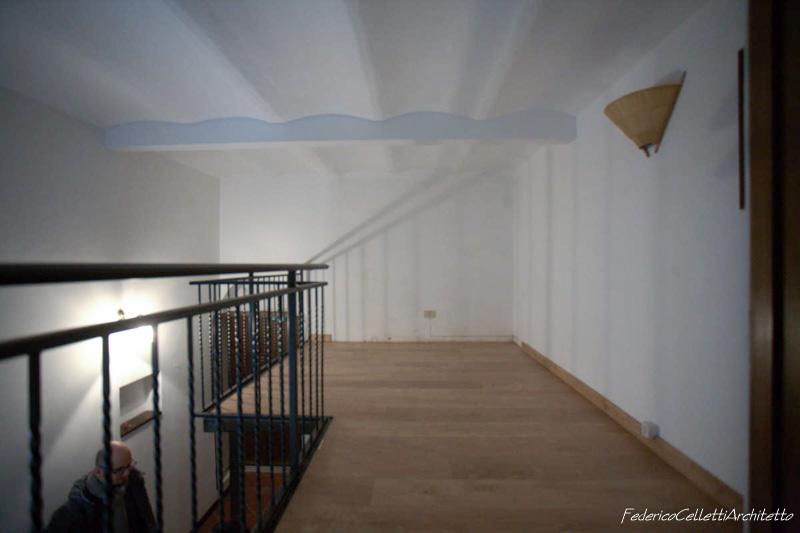 Soppalco e Area Notte Urbana 120 Prima dei lavori di Restauro e Interior Design