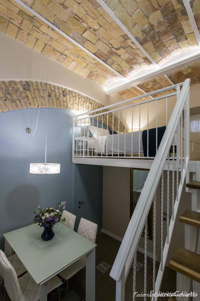 L'appartamento Urbana 120 Dopo i lavori di Restauro e Interior Design