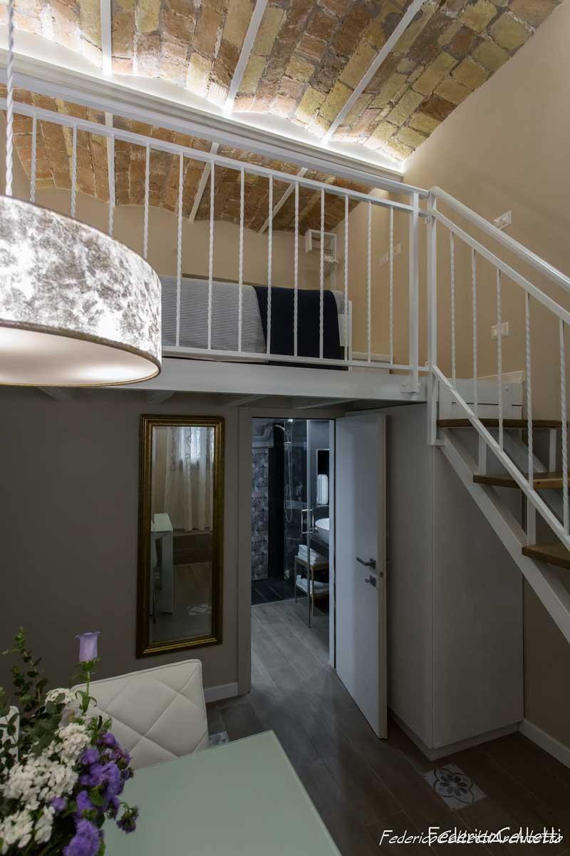 Soffitto e Pavimenti Urbana 120 Dopo i lavori di Restauro e Interior Design