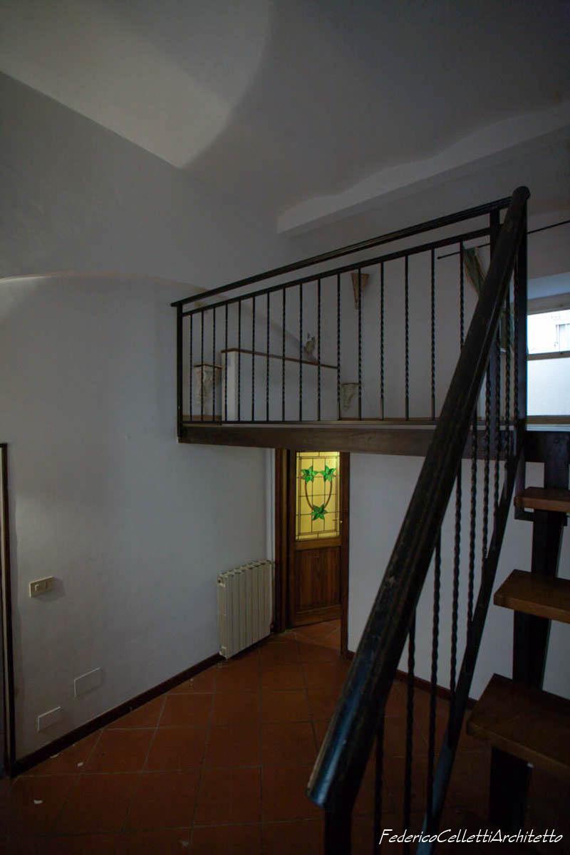 L'appartamento Urbana 120 Prima dei lavori di Restauro e Interior Design