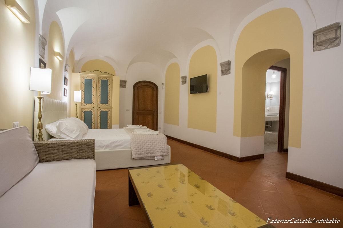 Specchiature Camera da letto Montegiordano 13 Dopo i lavori di Restauro e Interior Design