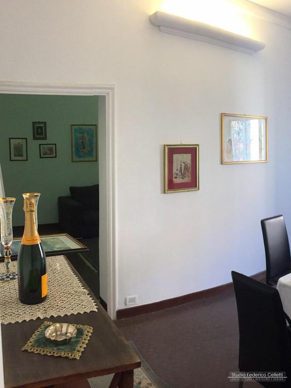 Camera C-D Stazione San Pietro prima dei lavori di Ristrutturazione e Interior Design