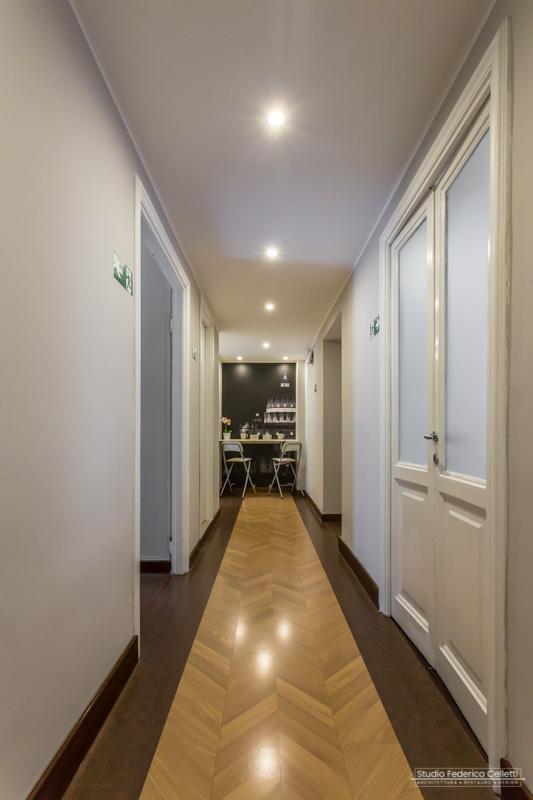 corridoio Stazione San Pietro dopo i lavori di Ristrutturazione e Interior Design