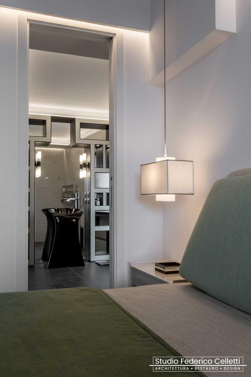 Camera Padronale Attico A+C Dopo dei lavori di Restauro e Interior Design 03