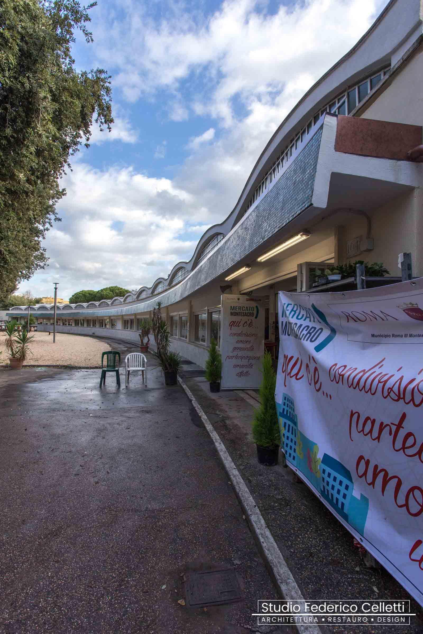 Mercato Montesacro - esterno dopo i lavori
