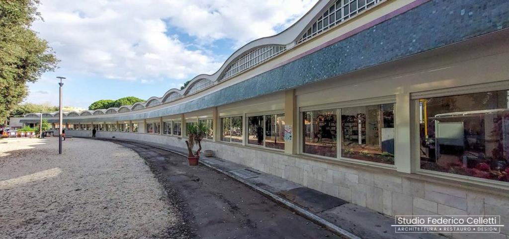 Mercato Montesacro esterno prospetto principale dopo i lavori