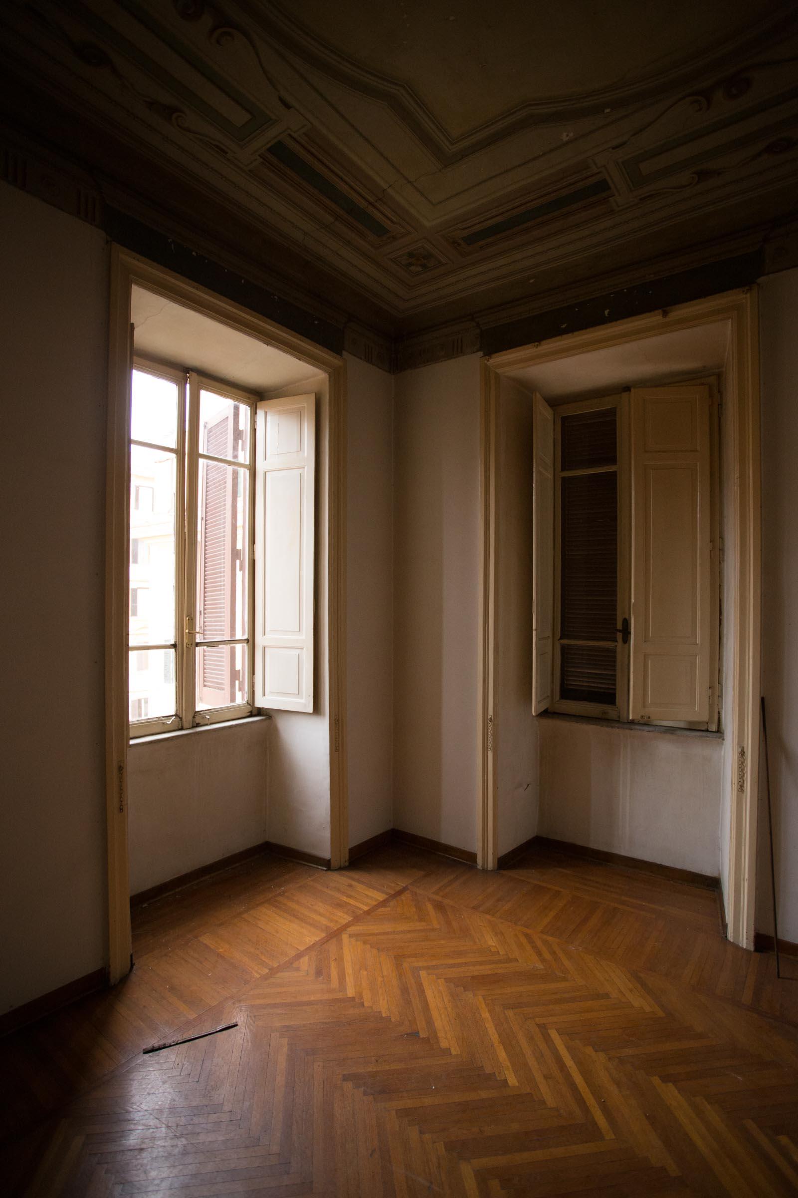 Camera Angolare Prima Casa N dei lavori di Restauro e Interior Design