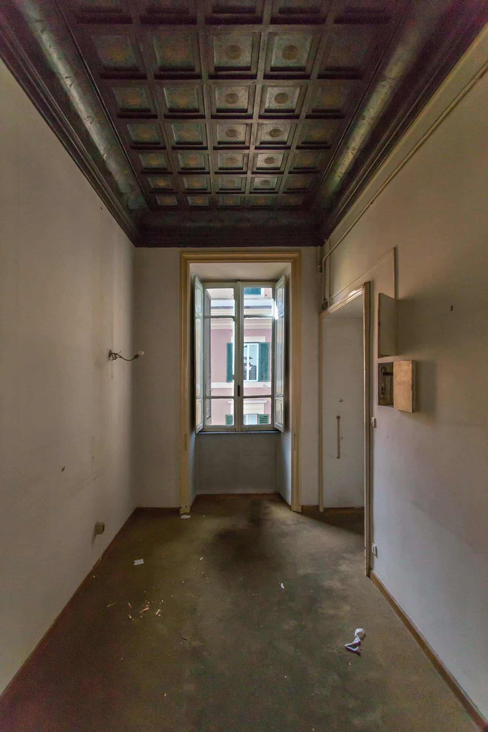 Ingresso Casa N Prima dei lavori di Restauro e Interior Design