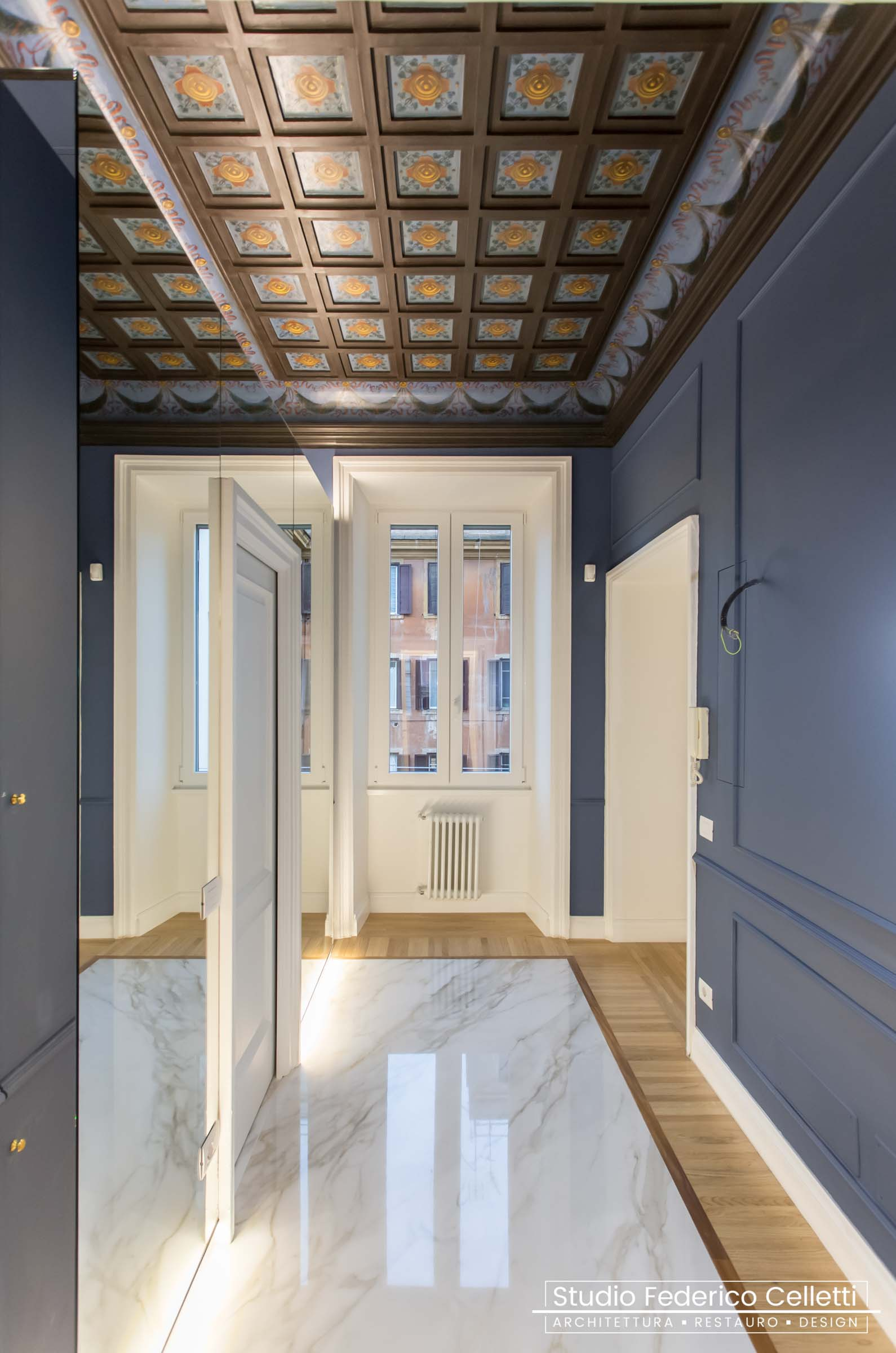 Ingresso Casa N Dopo i lavori di Restauro e Interior Design