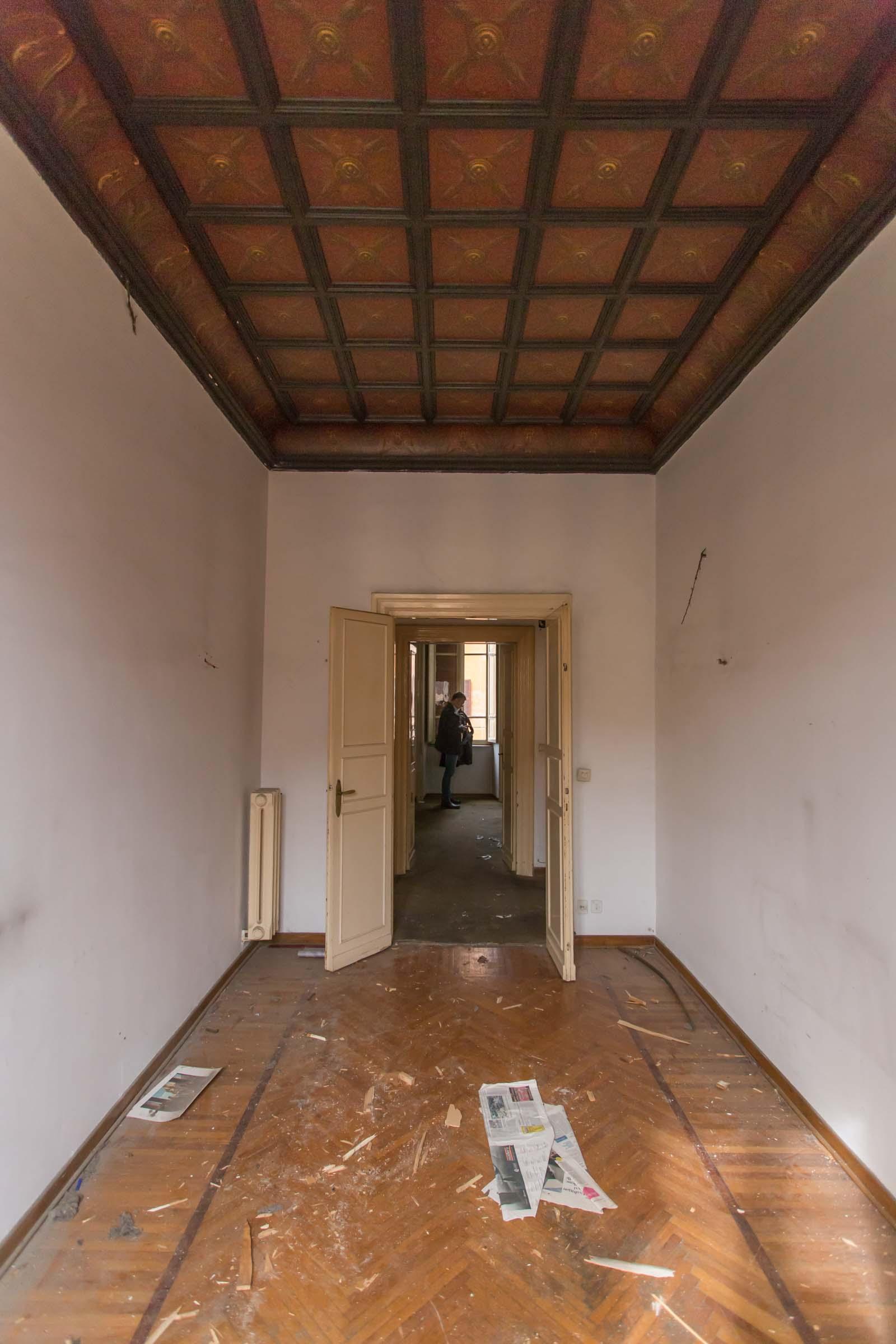 Pranzo Casa N Prima dei lavori di Restauro e Interior Design
