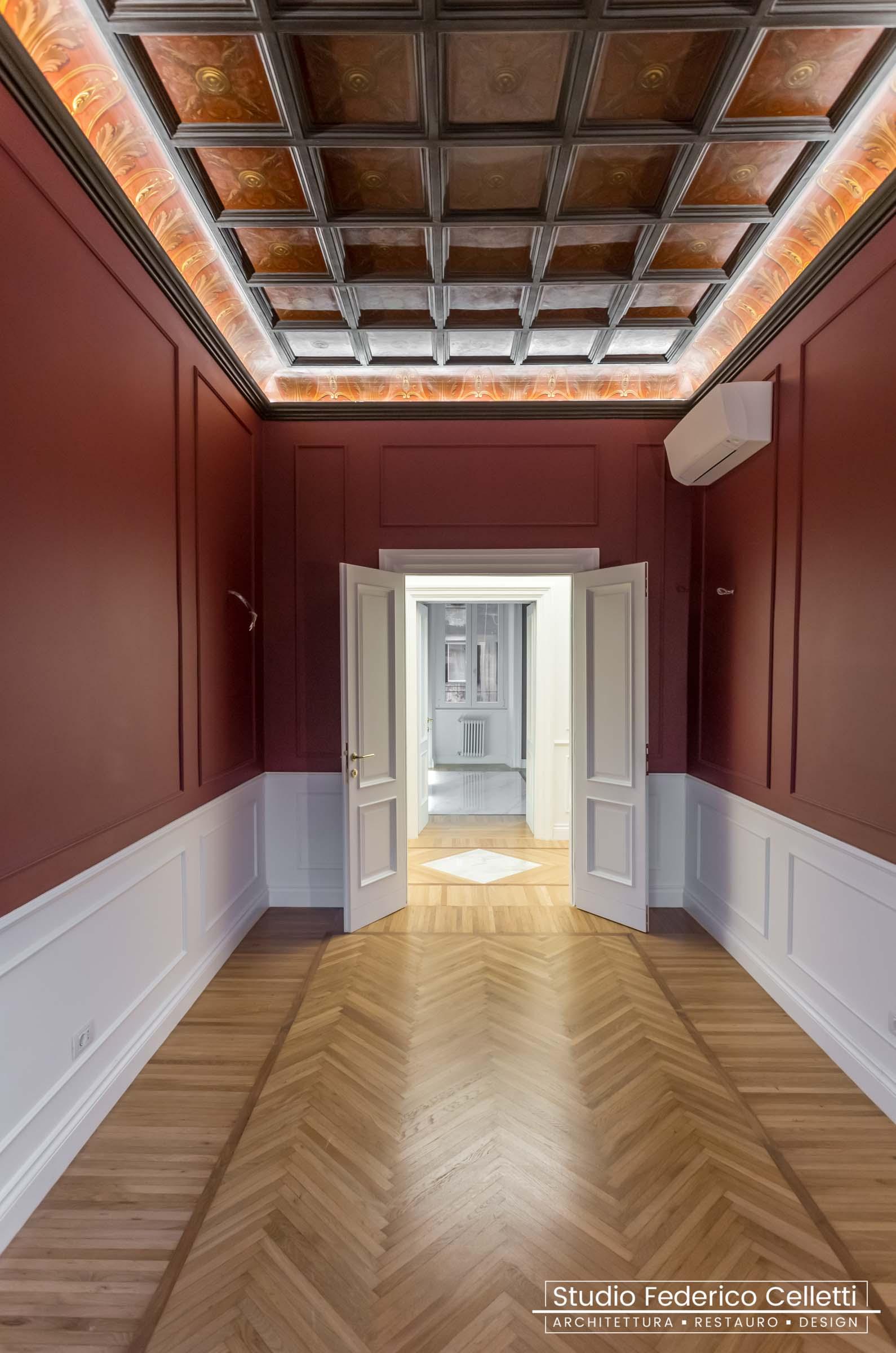 Pranzo Casa N Dopo i lavori di Restauro e Interior Design