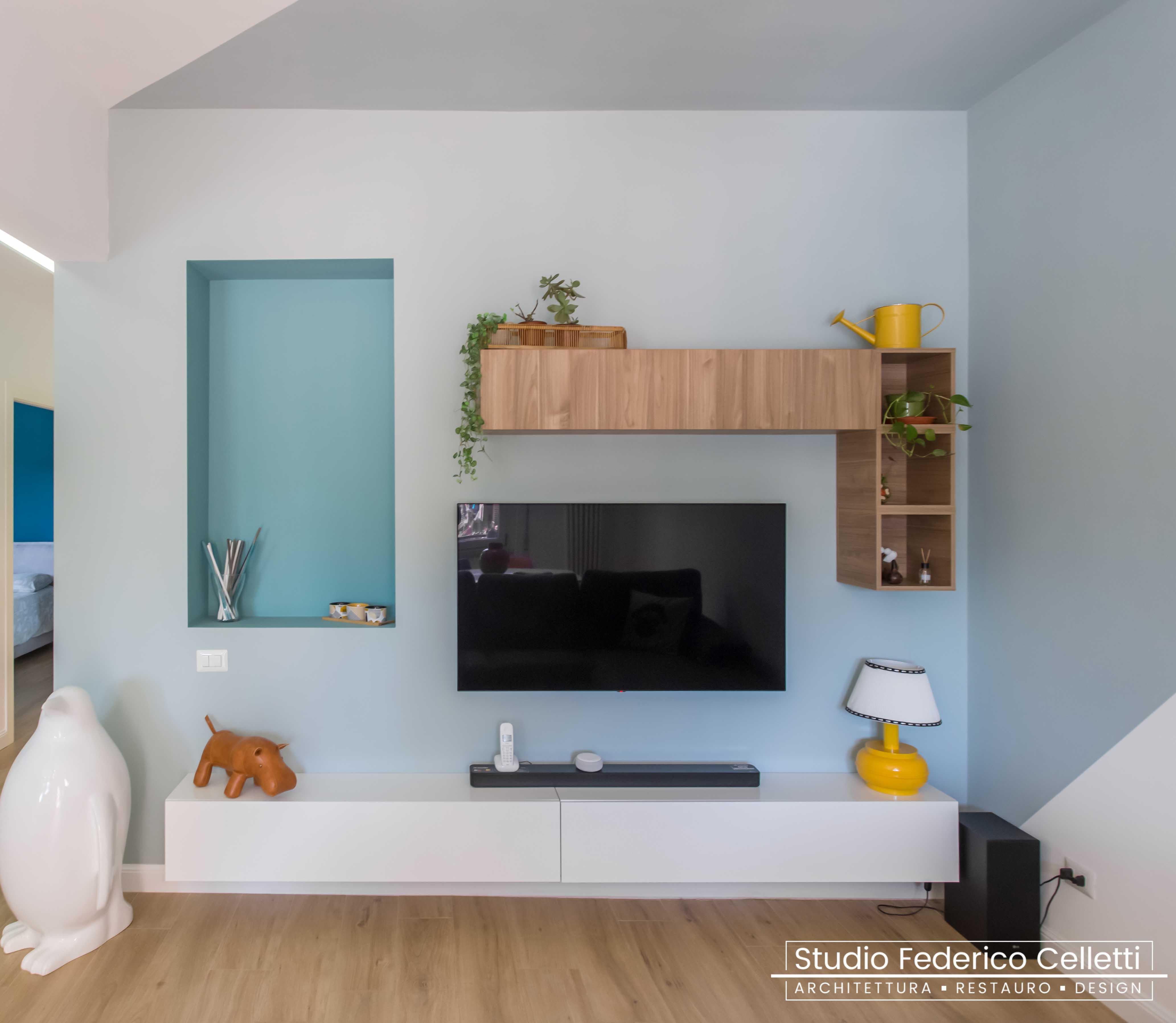 Living Penguin House Dopo i lavori di Restauro e Interior Design