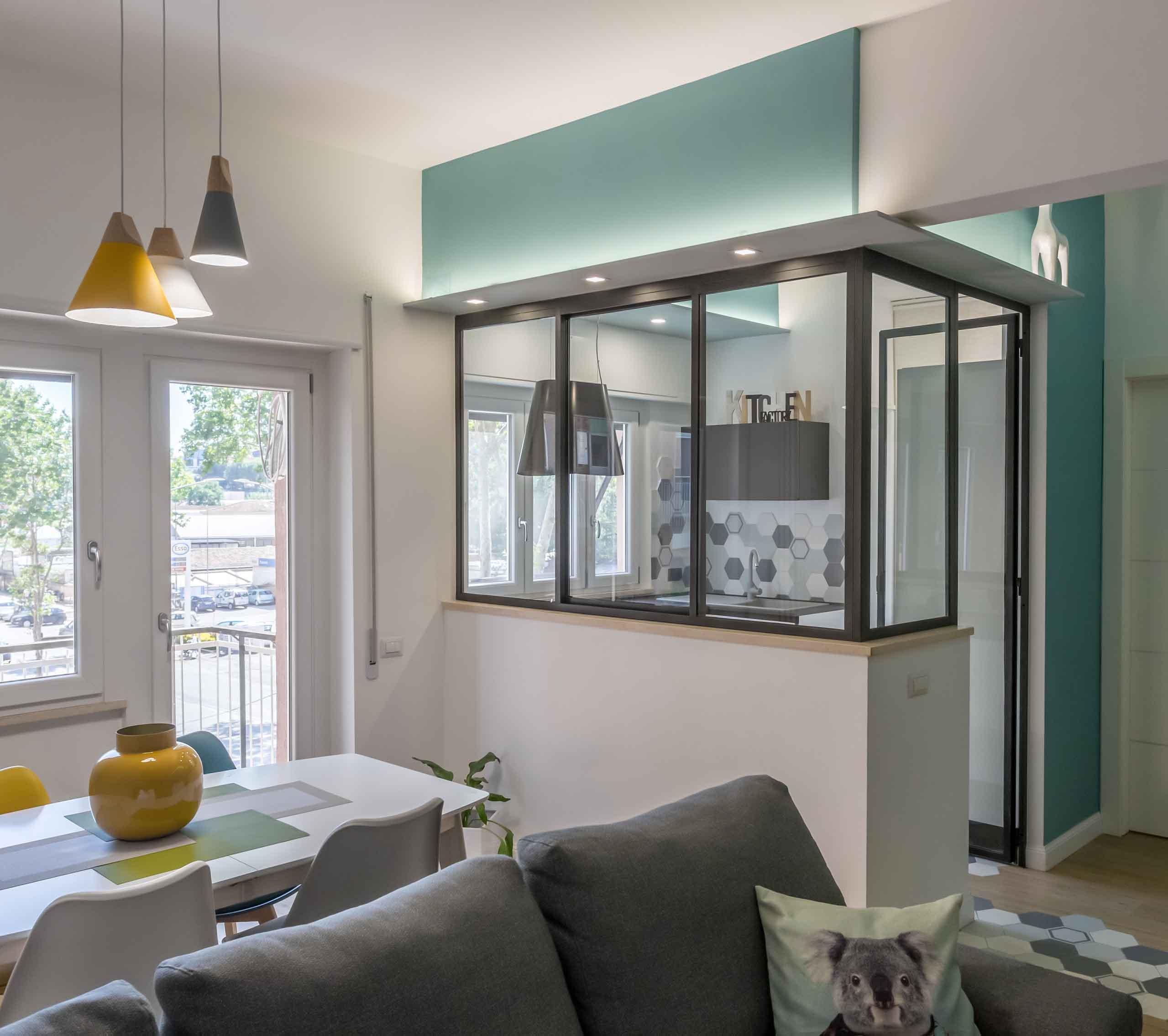 Vetrata Penguin House Dopo i lavori di Restauro e Interior Design
